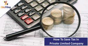 Save Tax in PVT LTD Company
