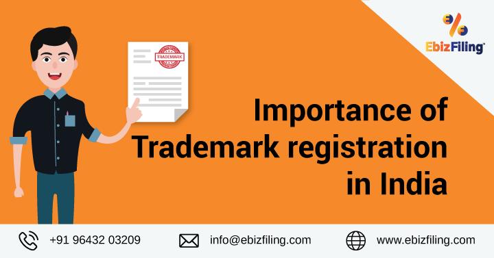 Importance of Trademark Registration, Necessity of Trademark Registration, Trademark registration, ebizfiling